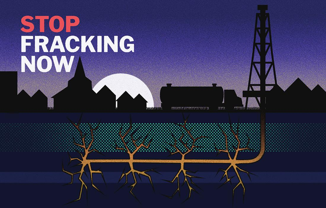 Stop Fracking Now