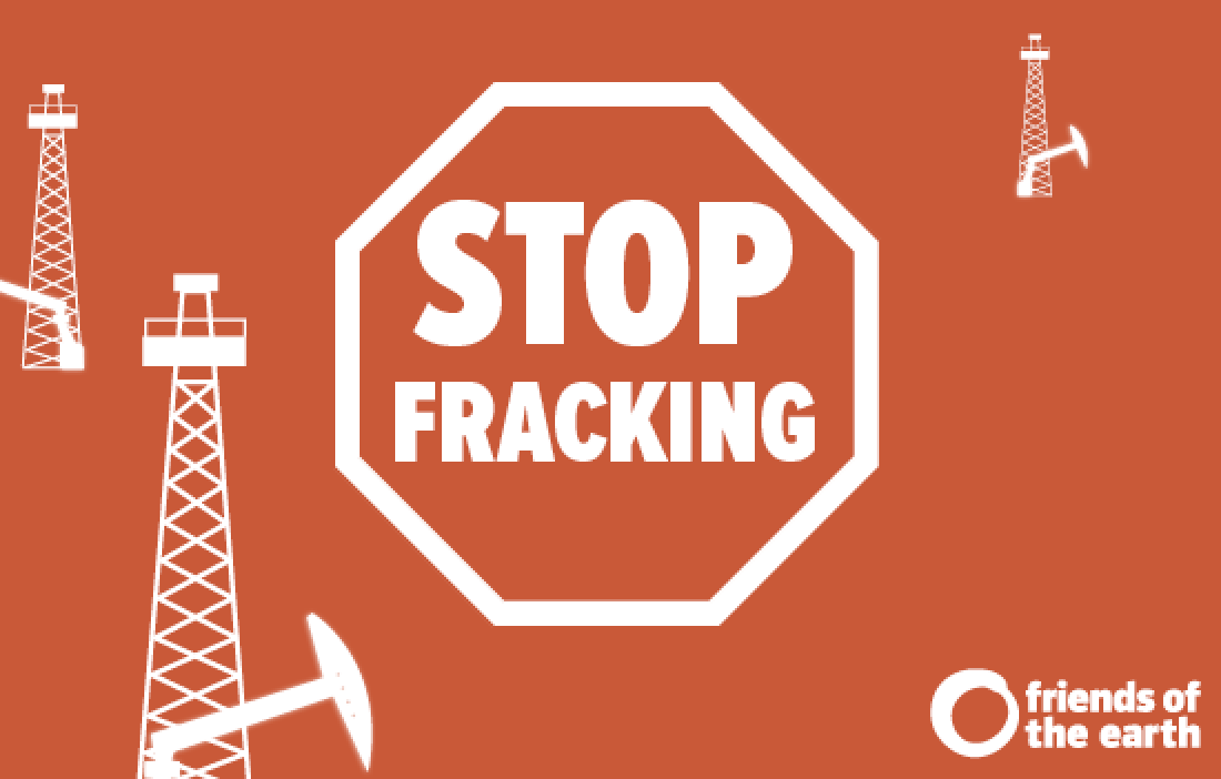 Stop Fracking graphic