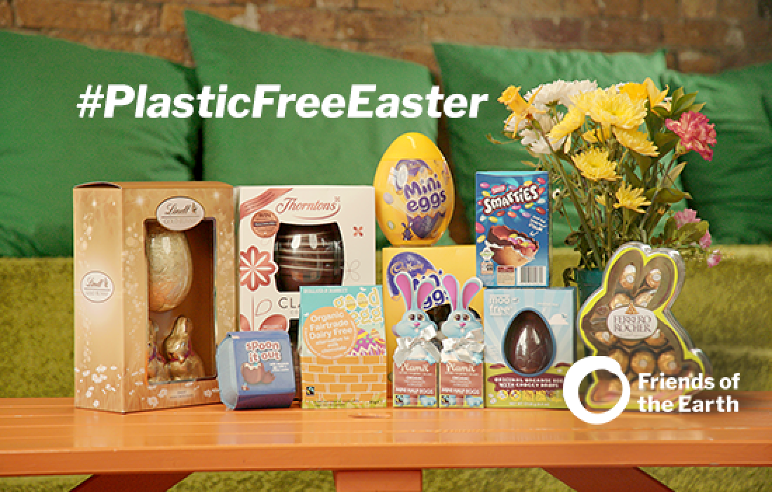 Tell manufacturers to make their Easter eggs plastic-free